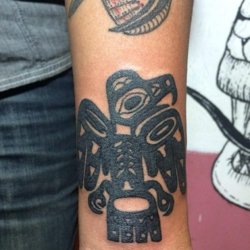 Aztec Eagle Tattto