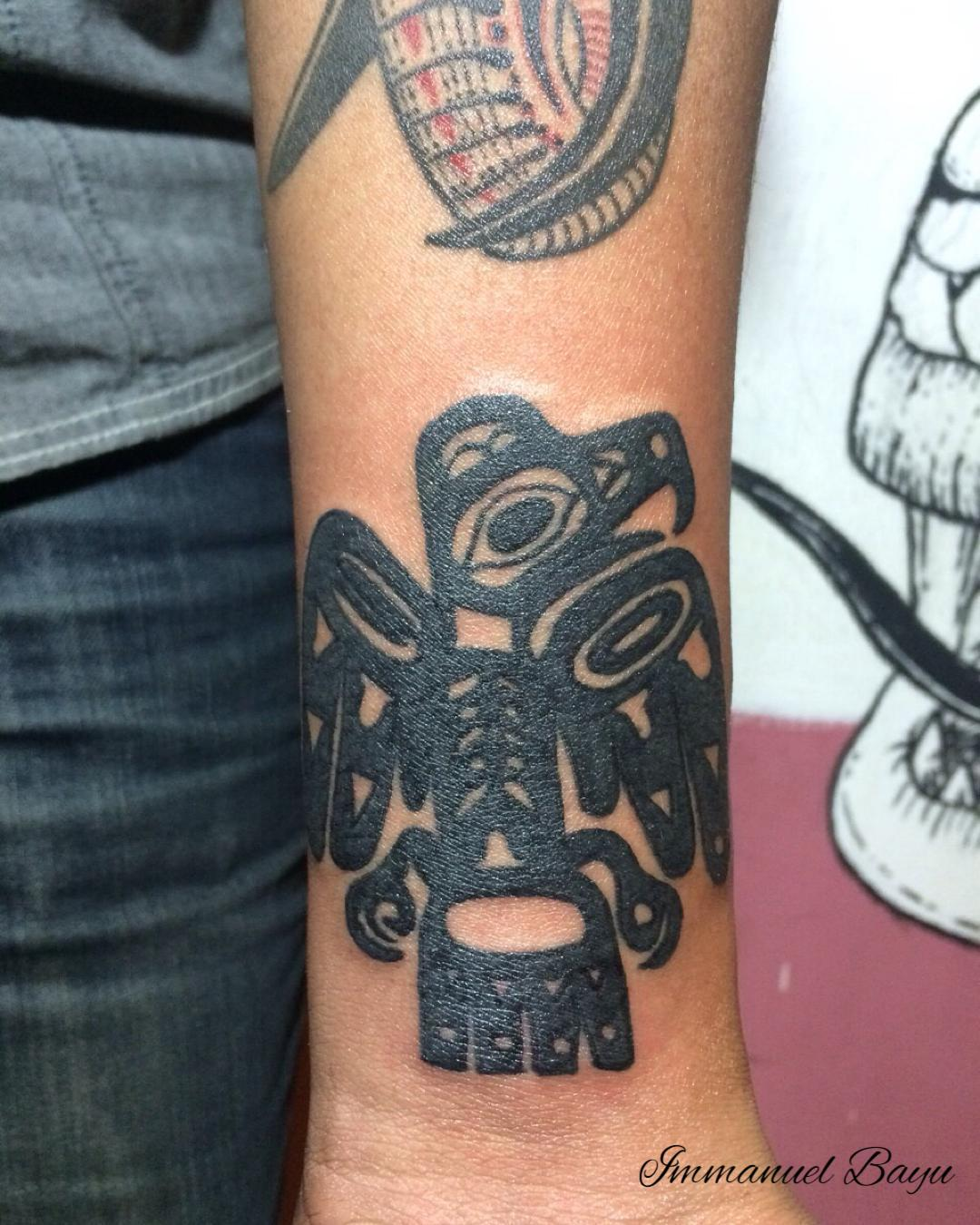 Aztec Eagle Tattto