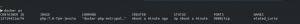 Docker php already running